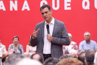 Pedro Sánchez visita el Municipio de Leganés