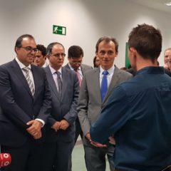 Pedro Duque, ministro de Ciencia, Innovación y Universidades visita LEGATEC
