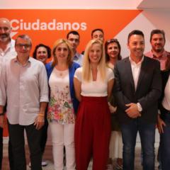 Presentación del equipo de Ciudadanos Leganés