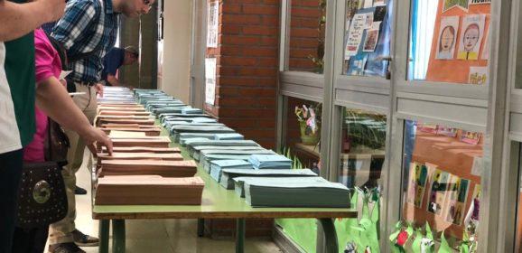 La participación de votantes en Leganés cae un punto con respecto a 2015
