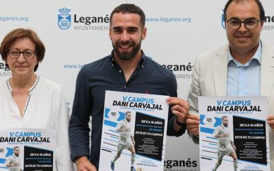 Dani Carvajal presenta la V Edición de su campus para este verano