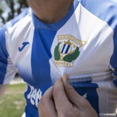El Club Deportivo Leganés presenta su primera equipación para la próxima temporada