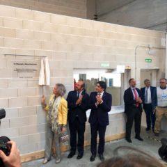 La Reina Sofía inaugura en Alcorcón el nuevo almacén del Banco de Alimentos