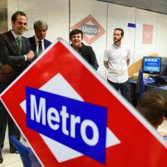 La Comunidad de Madrid completa la incorporación de nuevos maquinistas a la plantilla de Metro