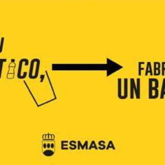 Esmasa utilizará el plástico recogido durante las Fiestas de Alcorcón para fabricar mobiliario urbano