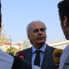 El consejero de Sanidad, Enrique Ruiz Escudero, visita el Instituto psiquiátrico José Germain