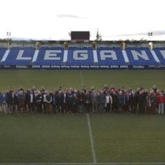 El CD Leganés firma un convenio de colaboración con 55 clubs locales