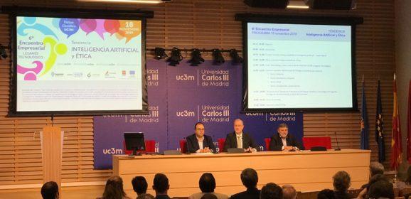 Inteligencia Artificial bajo el marco del VI Encuentro Empresarial Leganés Tecnológico