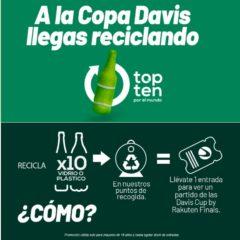 Pase a la Copa Davis para los más ecológicos