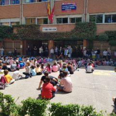 Bandera verde para los centros educativos más sostenibles de Leganés gracias al programa Ecoescuelas