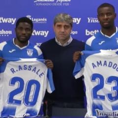 Presentación oficial de Ibrahim Amadou y Roger Assalé