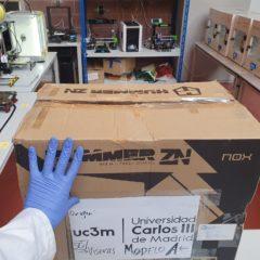 La UC3M pone su tecnología al servicio de la lucha contra el COVID-19