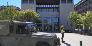 Desplegada en Leganés la Brigada Paracaidista