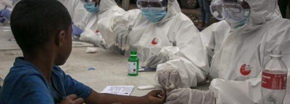África ha superado la barrera de los 10.000 casos por covid-19