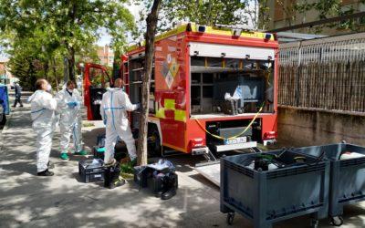 El Cuerpo de Bomberos de Leganés contará con equipamiento especial contra amenazas biológicas y químicas