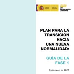 El Ministerio de Sanidad publica una guía con las medidas a seguir durante la Fase 1