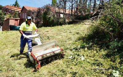 Móstoles inicia los trabajos de limpieza y desbroce para evitar incendios forestales