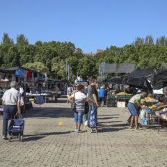 Los mercadillos de Leganés reabrieron el viernes respetando las medidas de seguridad