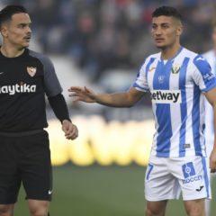 El C.D. Leganés recibe esta noche al Sevilla por octava vez en su historia