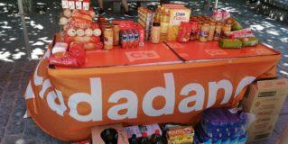 Ciudadanos recoge alimentos para Cáritas en Leganés y otros municipios