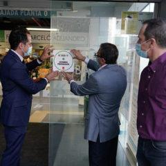 Aguado reconoce a los comercios su esfuerzo para cumplir con las medidas contra el coronavirus