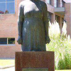 Vandalismo en la estatua de La Pasionaria en Leganés