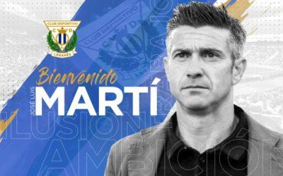 El C.D. Leganés ficha a José Luis Martí como nuevo entrenador del primer equipo
