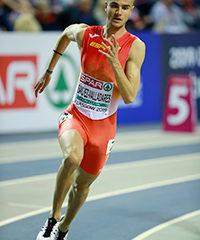 El torrejonero Pablo Sánchez-Valladares consigue la medalla de oro de los 400 metros lisos en el Campeonato de Madrid al aire libre