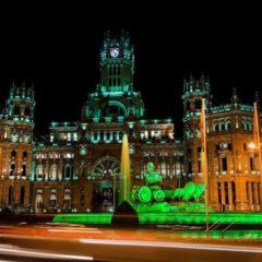 Madrid iluminó ayer la Real Casa de Correos con motivo del Día Internacional del Síndrome Phelan-McDermid