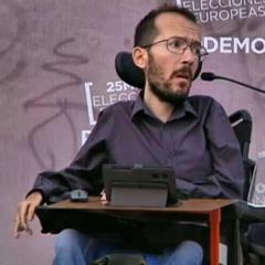 """Pablo Echenique es condenado por """"intromisión en el honor"""" de un hombre fallecido"""
