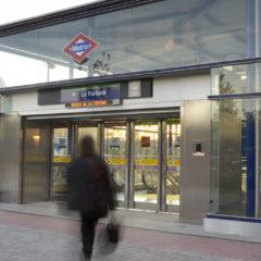 Detenido el agresor del vigilante de la estación de Metro de La Fortuna
