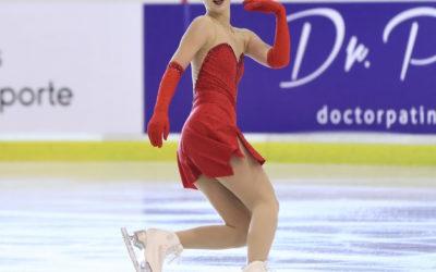Una estudiante de Leganés, campeona de España de patinaje artístico sobre hielo
