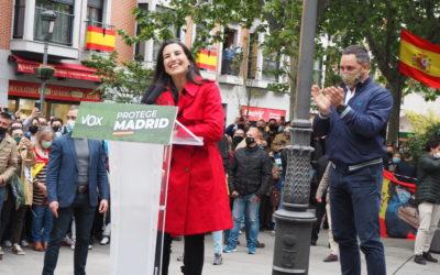 """Monasterio y Abascal (VOX) visitan Leganés: """"el próximo 4M impediremos que el Gobierno de Madrid caiga en manos de los socialcomunistas"""""""