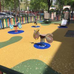 Leganés inicia un plan de mejora de todas las áreas infantiles del municipio