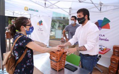 Comienza el proyecto piloto para instalar el quinto contenedor de residuo orgánico en Alcorcón