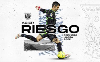 Asier Riesgo renueva con el Lega por una temporada más