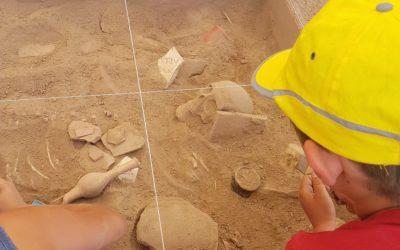 En marcha la sexta edición del programa educativo Arqueólogos por un día