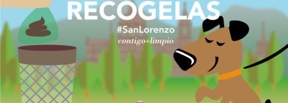 Refuerzan la campaña municipal de concienciación para la recogida de excrementos caninos de San Lorenzo de El Escorial
