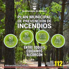Alcorcón activa el Plan de Emergencias por Incendios Forestales