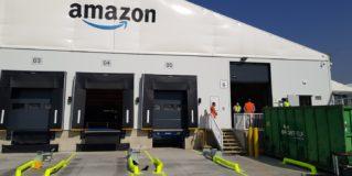 El alcalde de Leganés destaca la importancia de la estación logística de Amazon en el municipio, que emplea a un centenar de personas