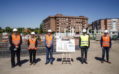 La construcción del colegio público de Educación Especial de Torrejón de Ardoz terminará el próximo curso