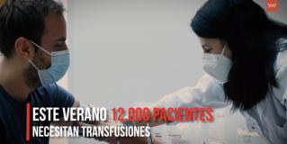 Una nueva campaña anima a aumentar las reservas de sangre de la región