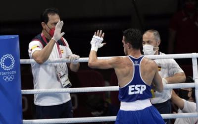 El boxeador leganense Gabriel Escobar cae en cuartos de final y se queda sin medalla en los JJ.OO. de Tokio