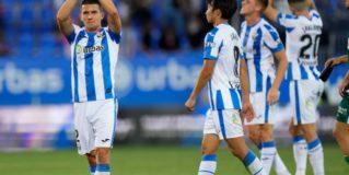 El C.D. Leganés se impone al Amorebieta y consigue su primera victoria liguera (1-0)