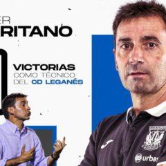 Asier Garitano cumple 100 victorias en el Lega