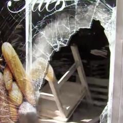 Robo con alcantarillazo en una panadería de Leganés