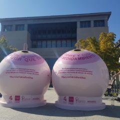 Presentan en Leganés la campaña solidaria «Recicla Vidrio por ellas»