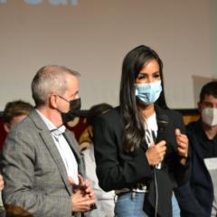 Begoña Villacís se compromete en Leganés a «trabajar para dar respuesta a los problemas de la juventud del sur de Madrid»